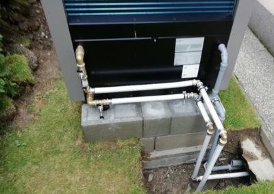 Tepelné čerpadlo IVT - inštalácia